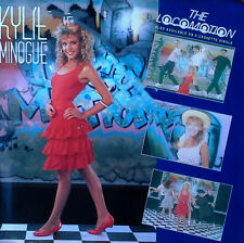 Kylie Minogue - The Locomotion b/w I'Ll Still Be Loving U - Geffen 45 + Pic. Slv
