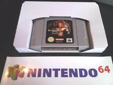 x 3 Nintendo N64 Inlay Replacement Cardboard Insert Game Box Tray NEW