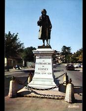 FERNEY VOLTAIRE (01) MONUMENT STATUE de VOLTAIRE animée