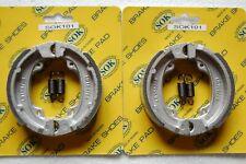2 pair REAR BRAKE SHOES+SPRINGS fit HONDA NJ 50 Gyro, 1982-1992 NJ50 Gyro X