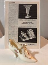 Advertising Ad The New Yorker of the Lenox Cinderella's Slipper Anniversary Gift