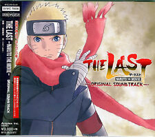 ANIMATION OST THE LAST  NARUTO THE MOVIE JAPAN CD