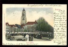 Holland Netherlands GROOTE Markt 1903 u/b PPC by J H Schaefer