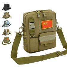 Men's Tactical Military Sling Chest Bag Molle Backpack Crossbody Shoulder Pack