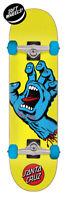 Santa Cruz Screaming Hand Mini Yellow Complete Skateboard - 7.75x30