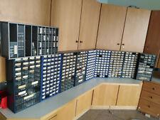 Auflösung Elektronik Ausbildungsstätte Hunderttausende Artikel+Kleinteileregale