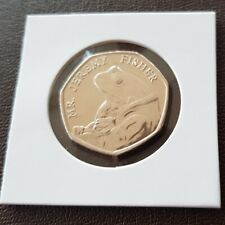 2017 Mr Jeremy Fisher 50p Fifty Pence Beatrix Potter Coin