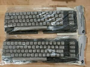 TWO (2x) Archer (Radio Shack) 65 Position keyboards C64, New Old Stock, 277-1027