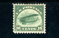 USAstamps Unused FVF US Airmail Jenny Scott C2 OG MHR