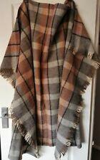 """Bronte Tweeds Wool Throw Rug Blanket 57""""/44"""""""
