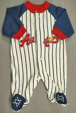 Baby Boy Clothes Child Of Mine Carter's Preemie All-Star Footed Outfit
