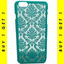 Élégant Henna Design 3D Fleur Turquoise Case iPhone 6 S Plus-Achetez 1 obtenez 1...