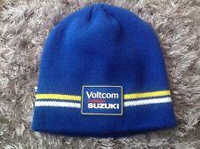 Suzuki Voltcom Crescent Beanie Hat Brand New