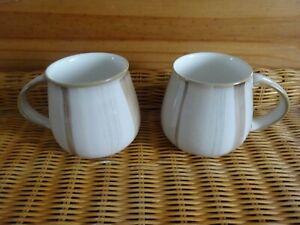 Denby Stoneware  Truffle Layers  Mug x 2