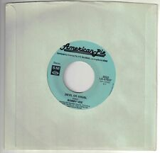 VEE, Bobby  --bw--  Eddie Cochran  (Devil Or Angel  --bw--  C'mon Everybody)  RI