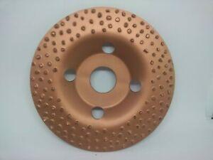 WoCaTec 115mm Raspelscheibe ebene Oberfläche, feine Kornung
