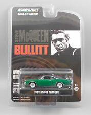 Greenlight Hollywood Steve McQueen Bullitt 1968 Dodge Charger *CHASE* 1:64 Scale