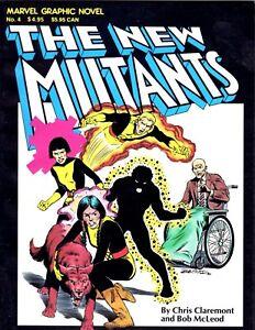 Marvel Graphic Novel 4 - Origin 1st Appearance New Mutants - 2nd Print - VFN