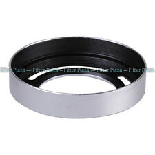Silver Replacement Metal Vented Lens Hood LH-JX10 for Fuji Fujifilm Finepix X10