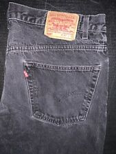 Mens Levi's 505 Jeans 42 X 30 Vintage Made In Mexico Black