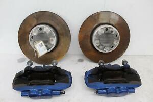 2014 BMW 2 SERIES F22 Front Left & Right Brake Caliper & Disc Kit 34116799465