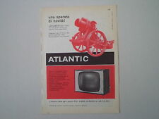 advertising Pubblicità 1960 TELEVISORE ATLANTIC MOD. 519