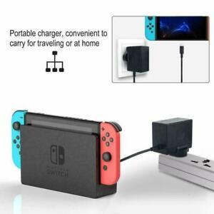 Nintendo Switch Switch Mains Adaptor / Adapter Charger Plug UK - Brand New