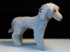 More details for vintage mohair borzoi wolfhound dog soft toy