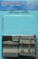 Aires 1/32 MiG-23 Flogger Wheel Bay for Trumpeter kit # 2133