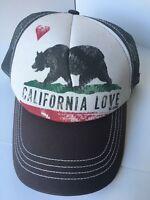 Billabong California Love Bear Trucker Hat Adjustable