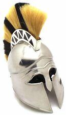 Medieval Warrior Brand 18G Steel Greek Corinthian Armor Helmet w/ Free Stand
