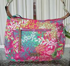 Lily Bloom Gracia Floral Reef Pink Crossbody Bag ECO NWT
