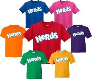 Nerds  Halloween Candy Birthday Christmas family T-Shirts