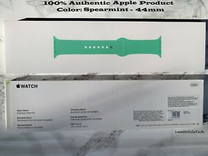 AUTHENTIC 100% Apple Watch Spearmint Sports Band 44MM