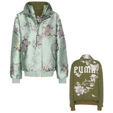 Puma x Rihanna Fenty Womens Reversible Bomber Jacket Teal 574405 01 A68C