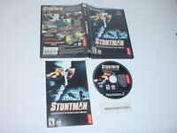 STUNTMAN game complete in case w/ manual for Playstation 2 PS2