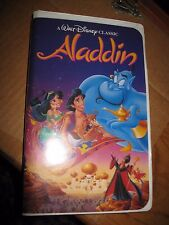 Disney Black Diamond Classic 1993 Aladdin VHS
