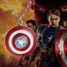 Llavero de Thor y colgante Capitán América.