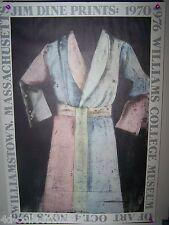 Original poster Pace Editions Jim Dine Prints 1976 Williams College