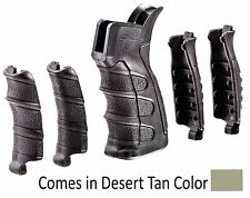 UPG16-S CAA Tactical Desert Tan 6 Piece Interchangeable Grip Made of Polymer