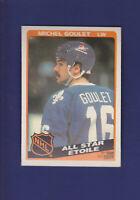 Michel Goulet All Star 1984-85 O-PEE-CHEE Hockey #207 (NM+)