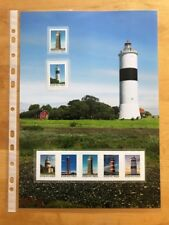 Sweden 2018 lighthouses architecture art MNH collector 's sheet