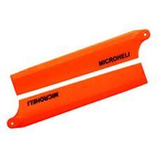 MICROHELI Plastic Main Blade 85mm, Orange: Blade Nano CP X MHENCPX003OR