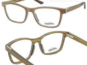 KobelFein hochwertige Holzbrille Brille Echtholz braun (in Sehstärke möglich)