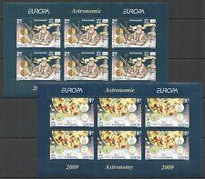 RM002 2009 ROMANIA SPACE EUROPA ASTRONOMY GALILEI 2KB MNH MICHEL 50 EURO #6357-8