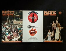 1997-98 University of Pacific Men's Basketball Schedule  - Michael Olowokandi