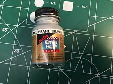 Pactra RC5211 Pearl Silver 1 oz Acrylic Racing Finish Polycarbonate Lexan