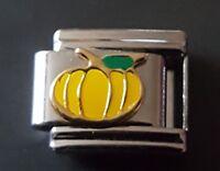 Halloween Pumpkin Italian Charm Bracelet Charms Link fits Nomination Classic