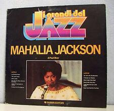 "33 tours MAHALIA JACKSON Disque LP 12"" Livre JI GRAND DEL JAZZ Gospel CBS 297689"