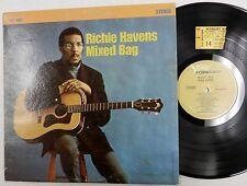 RICHIE HAVENS Mixed Bag LP 1968  w/ TICKET STUB YALE